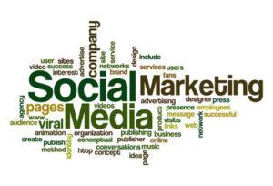 Social media Marketing - Word Cloud