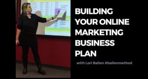 Building your Online Marketing Business Plan