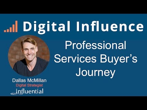 Digital Influence – Professional Services Buyer's Journey