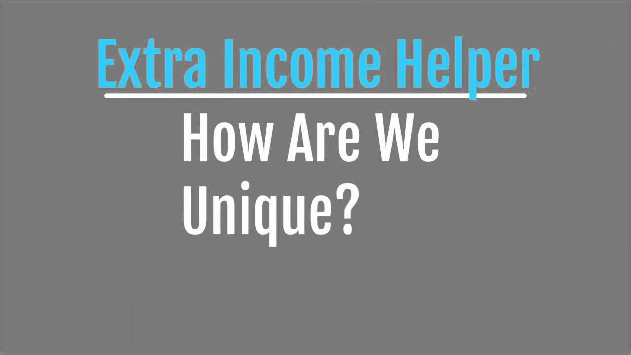 Extra Income Helper Advertisement Service (Make Money Online Right Now)