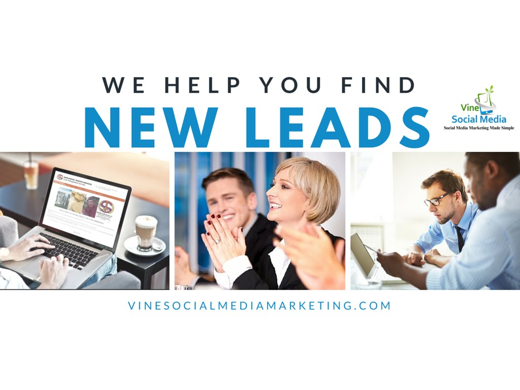 Find New Clients with Lead Generation and Online Marketing Services by Vine Social Media Marketing