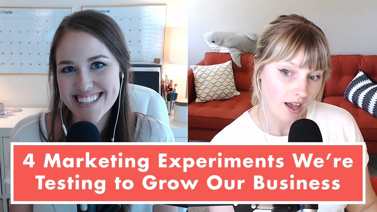 How to Grow Your Business and 4 Marketing Strategies Femtrepreneur is Experimenting With Right Now