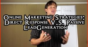 Online Marketing Strategies: Passive Vs. Direct Response Forms Of Online Marketing Strategies…