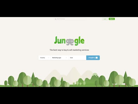 Why is buying and selling marketing services so challenging online? Jungggle.com makes it easier!
